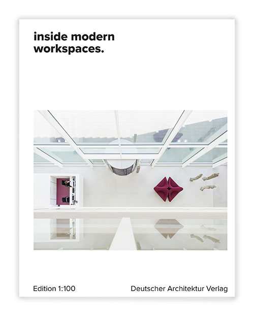 Cover inside modern workspaces Edition 1:100